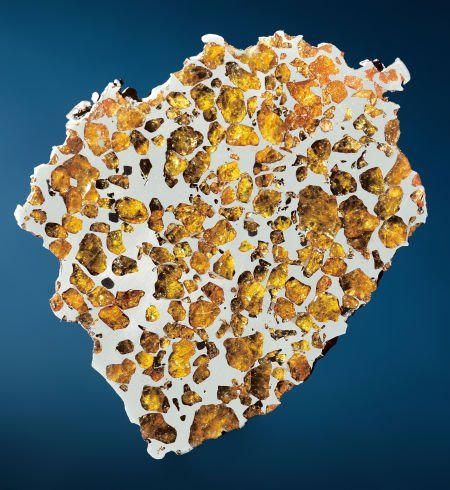 49028: IMILAC METEORITE - END PIECE WITH SPACE GEMS - I - 2