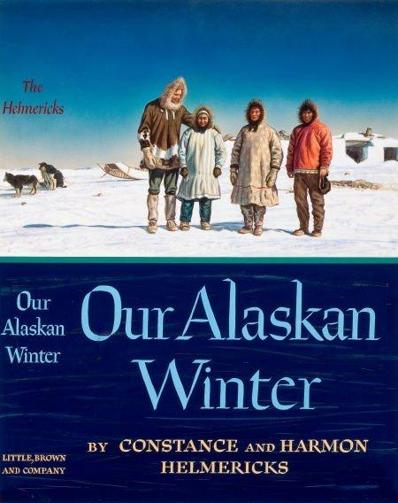 78013: AMERICAN ARTIST (20th Century) Our Alaskan Winte