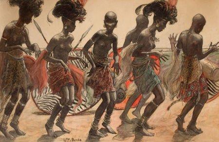 78021: WLADISLAW THEODORE BENDA (American, 1873-1948) T