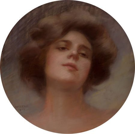 78024: PHILIP BOILLEAU (American, 1864-1917) Portrait o