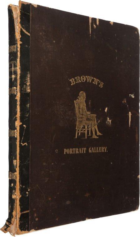 36007: William H. Brown. Portrait Gallery of Distinguis
