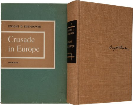 36013: Dwight D. Eisenhower. Crusade in Europe. New Yor