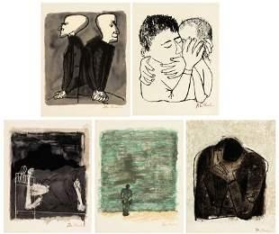 36132: Ben Shahn. Rainer M. Rilke. For the Sake of a Si