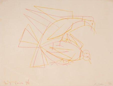 64002: PABLO PICASSO (Spanish, 1881-1973) Les deux tour