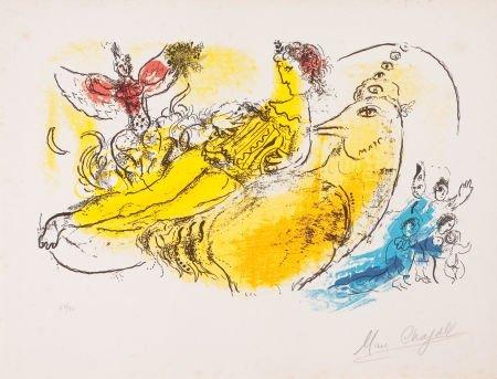 64004: MARC CHAGALL (Belorussian, 1887-1985) L'accordio