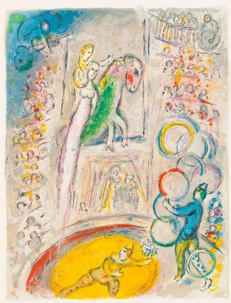 64005: MARC CHAGALL (Belorussian, 1887-1985) Le Cirque,