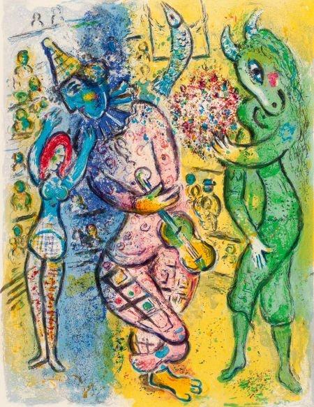 64006: MARC CHAGALL (Belorussian, 1887-1985) Le Cirque,