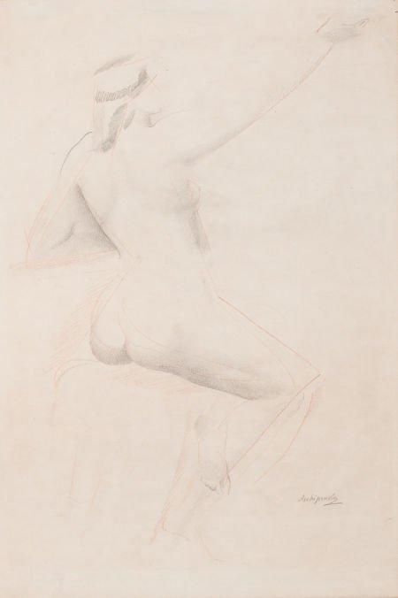 64007: ALEXANDER ARCHIPENKO (Ukrainian, 1887-1964) Femm