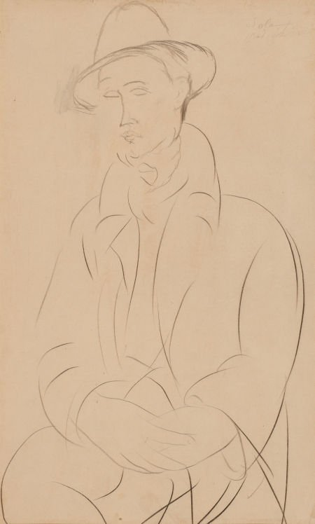 64010: AMEDEO MODIGLIANI (Italian, 1884-1920) Portrait