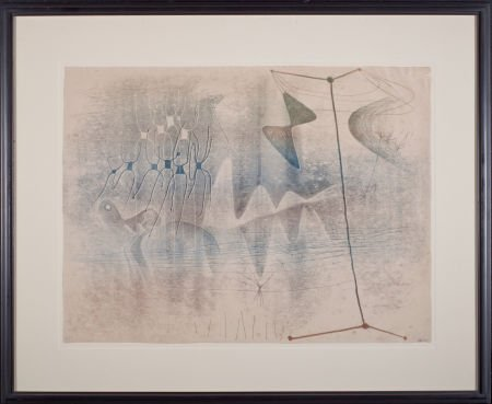 64021: HARRY BERTOIA (American, 1915-1978) Untitled (Mo