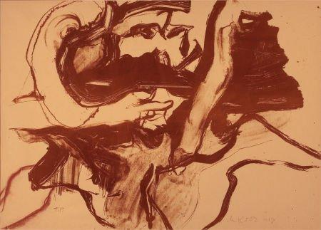 64024: WILLEM DE KOONING (American, 1904-1997) Untitled