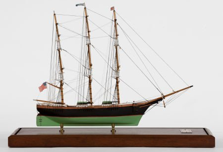 88005: SCALE MODEL OF A MERCHANT TRADER American Marine