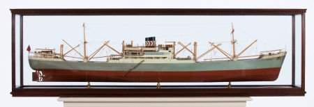 88237: BUILDER'S MODEL OF THE SS 'ARMANISTAN' A finely