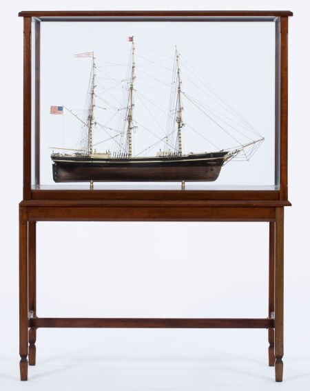 88007: SHIP MODEL OF 'SOVEREIGN OF THE SEAS' American M