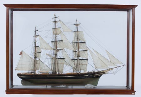 88009: SAILOR'S MODEL OF 'CUTTY SARK' The famous clippe