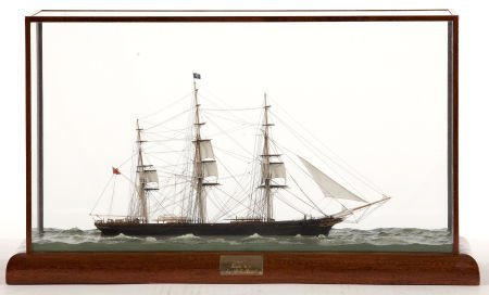88012: SCALE SEALINE MODEL OF THE 'CUTTY SARK' Modeled