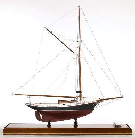 88021: SHIP MODEL OF THE FRIENDSHIP SLOOP 'ANXIOUS' Ame