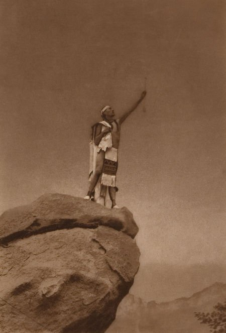 76004: EDWARD SHERIFF CURTIS (American, 1868-1952) By t