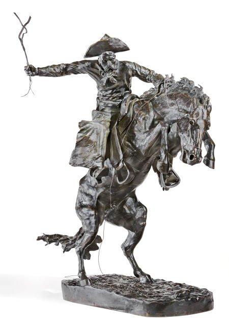 76017: FREDERIC SACKRIDER REMINGTON (American, 1861-190