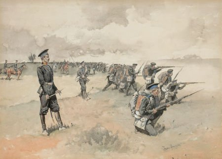 76018: FREDERIC SACKRIDER REMINGTON (American, 1861-190