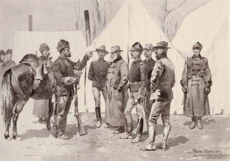 76019: FREDERIC SACKRIDER REMINGTON (American, 1861-190