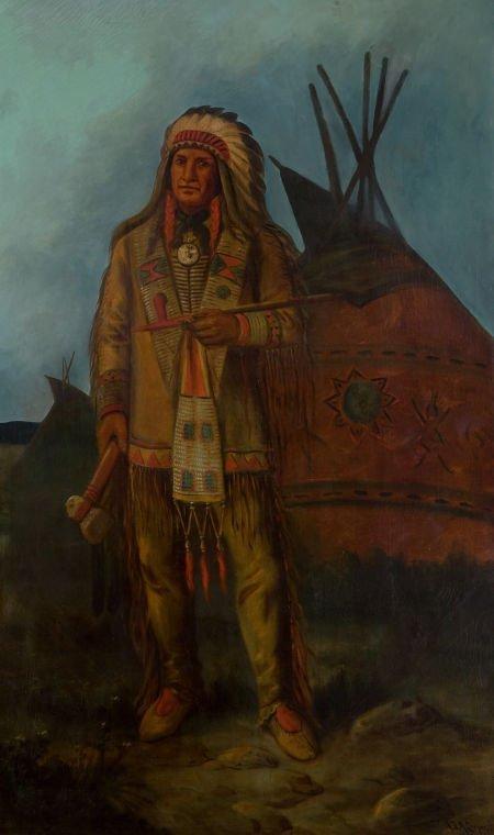 76023: ASTLEY DAVID MONTAGUE COOPER (American, 1856-192