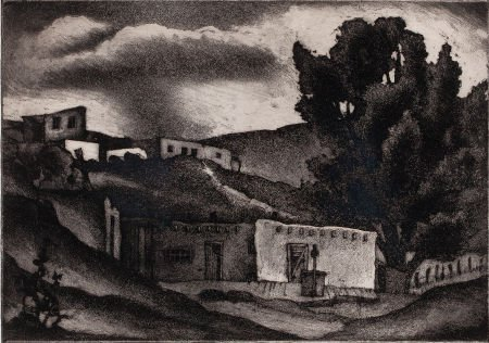 76023: BLANCHE MCVEIGH (American, 1895-1970) Untitled L