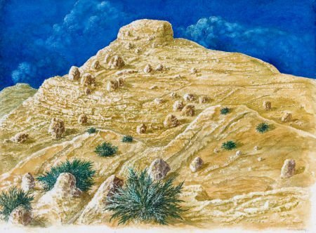 76007: KELLY FEARING (American, 1918-2011) West of Ozon