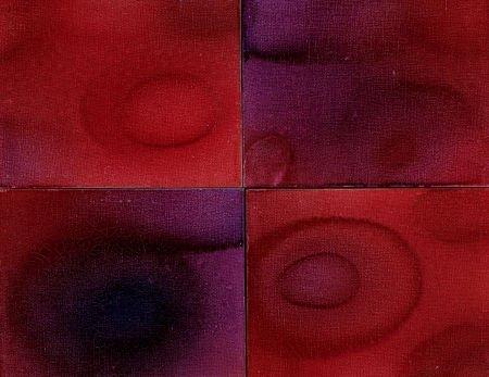 76008: KELLY FEARING (American, 1918-2011) Red Velvet C