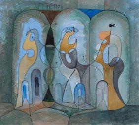 BROR ALEXANDER UTTER (American, 1913-1993) Abstr