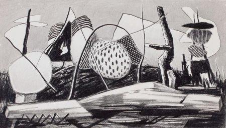 76016: WILLIAM LEWIS LESTER (American, 1910-1991) Drawi