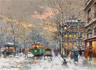 72070: ANTOINE BLANCHARD (French, 1910-1988) Paris, The