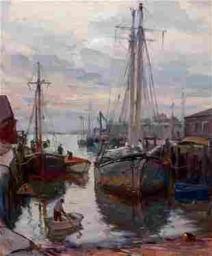 73030: EMILE ALBERT GRUPPE (American, 1896-1978) Busy H