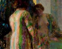 73037: HOVSEP PUSHMAN (American, 1877-1966) Reflections