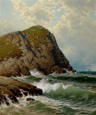 73072: ALFRED THOMPSON BRICHER (American, 1837-1908) Wh