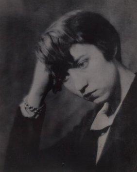 MAN RAY (American, 1890-1976) Berenice Abbott, P