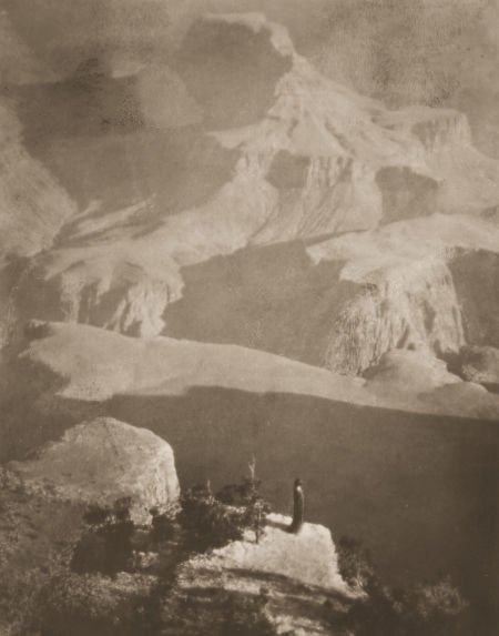 74009: ANNE BRIGMAN (American, 1869-1950) Sanctuary, Th
