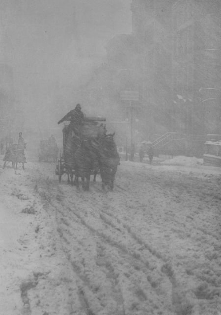 74013: ALFRED STIEGLITZ (American, 1864-1946) Winter, F