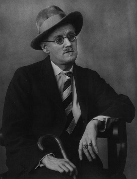 74020: BERENICE ABBOTT (American, 1898-1991) James Joyc