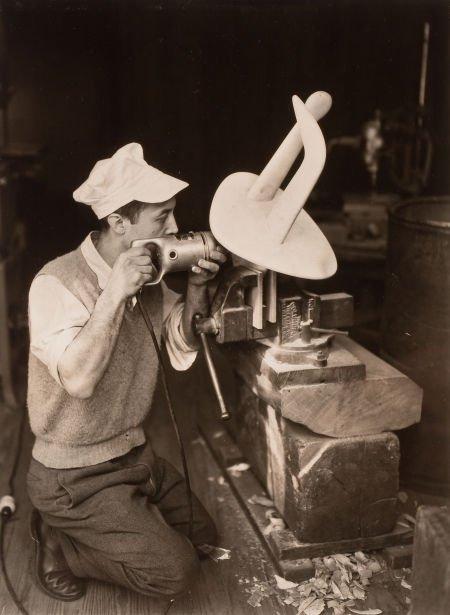 74021: BERENICE ABBOTT (American, 1898-1991) Isamu Nogu