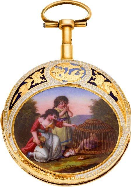 60013: Freres Esquivillon & De Choudens Gold & Enamel P