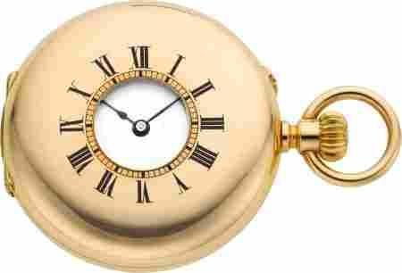 60016: Patek Philippe Mint Rose Gold Demi-Hunter Pocket