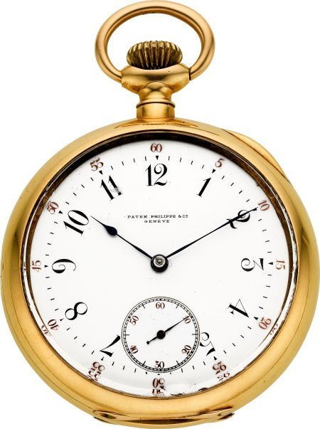 60020: Patek Philippe & Co. Large Gold Pocket Watch, ci