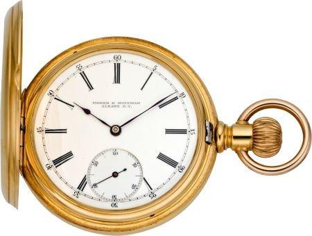 60024: Patek Philippe Gent's Gold Hunters Case, circa 1