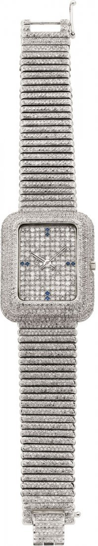 """60165: Piaget Extremely Fine & Rare """"Tradition"""" Large R"""