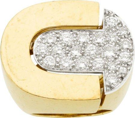 58006: Diamond, Gold Ring, David Webb