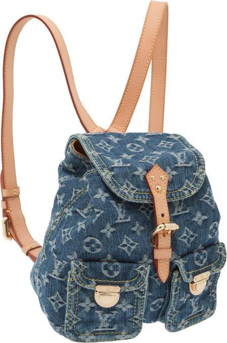 56308: Louis Vuitton Neo Denim Backpack