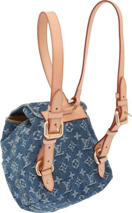 56308: Louis Vuitton Neo Denim Backpack  - 2