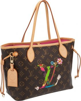 56325: Louis Vuitton Limited Edition Takashi Murakami N