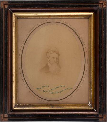 52001: Very Rare C.1862 Albumen Photographic Portrait o